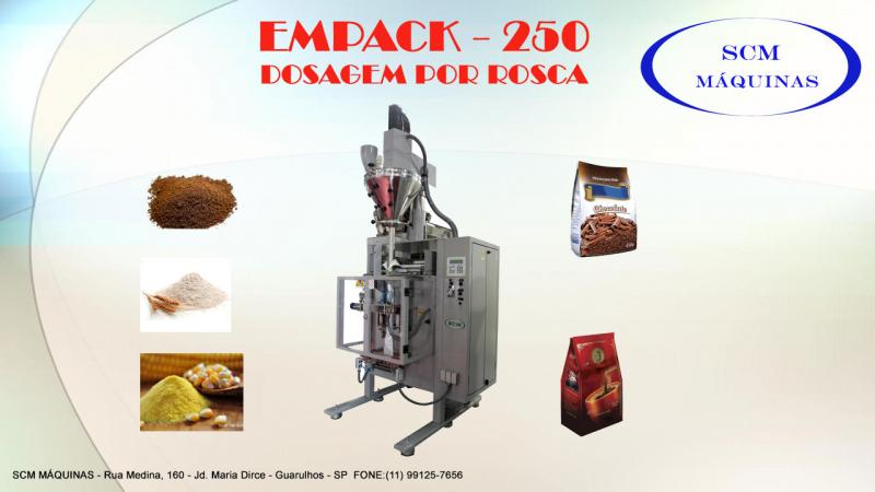 Empacotadora de alimentos