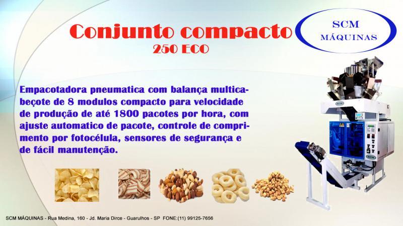 Empacotadora automática para biscoitos