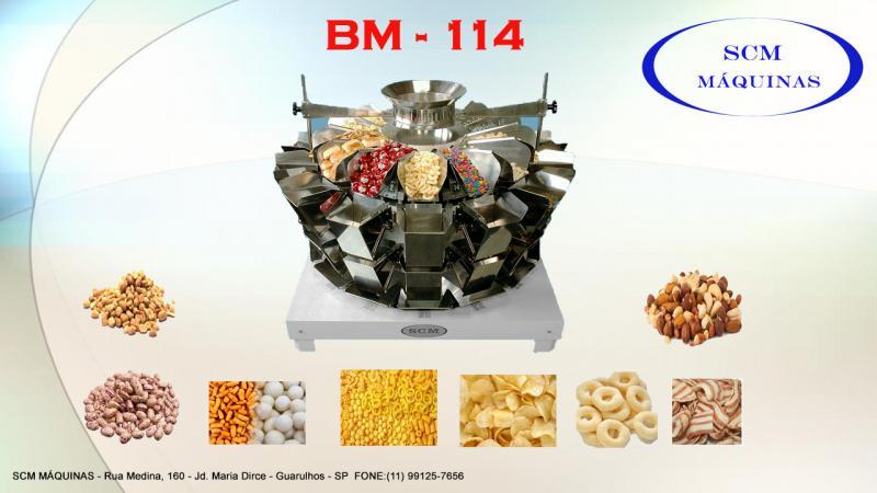 Empacotadora batata chips