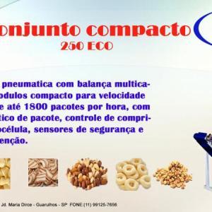 Empacotadora automatica para biscoitos
